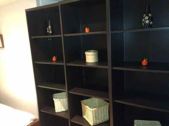 Piamonte Apartments: Mueble habitación ( sin puerta)