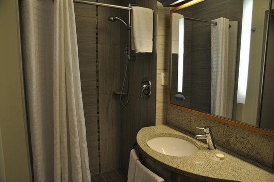 The Jewel Facing Rockefeller Center: Душевая в ванной