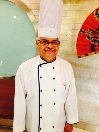 Starottel Ahmedabad : Chef Krisna karki