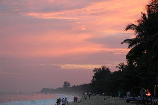 Samui Jasmine Resort : The sunset