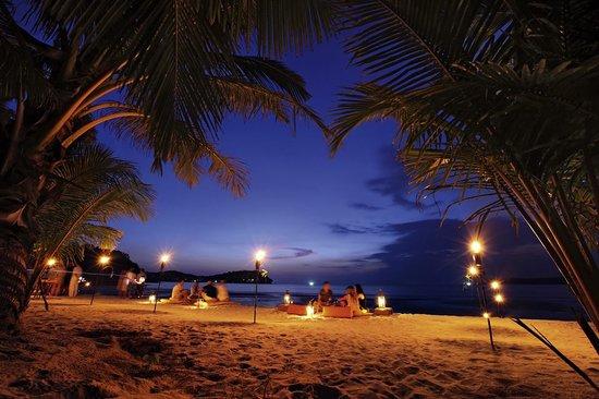 Soneva Kiri Thailand: Dinner at the beach at Soneva Kiri Resort in Thailand