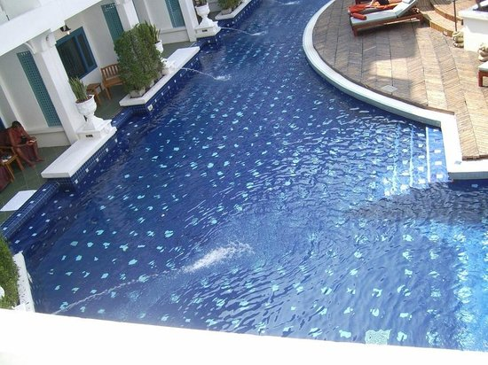 Andaman Seaview Hotel : you can have a room where enter a pool from your balcony
