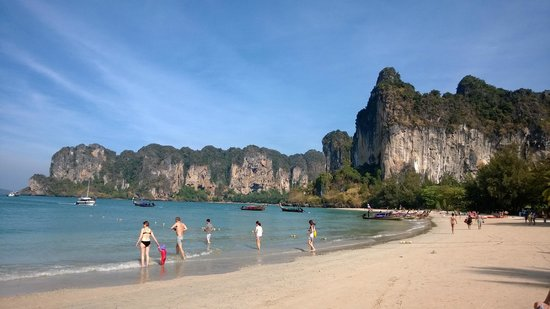 Railay Princess Resort & Spa : View of Railey West