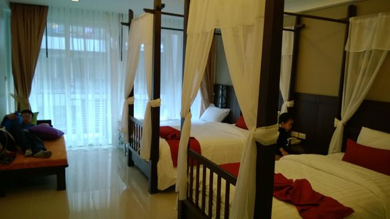 Railay Princess Resort and Spa: Deluxe 2 single beds