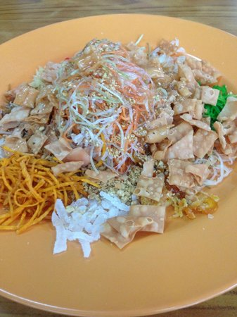 No Signboard Seafood : Chinese New Year Lohei dish