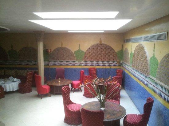 Le Soundouss Hotel : il ristorante marocchino