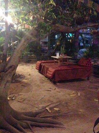 Peace Cafe: Interior setting