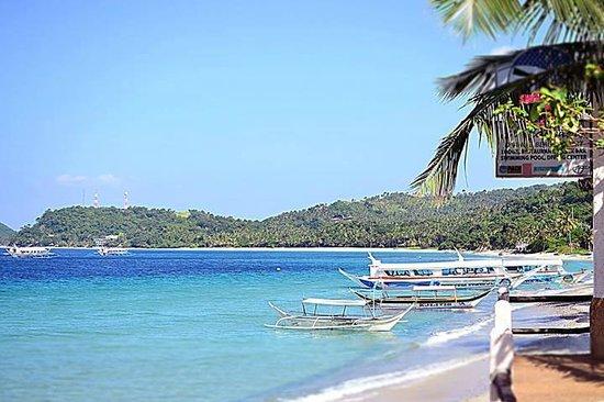 El Canonero Diving & Beach Resort: El Canonero offers the best view :)