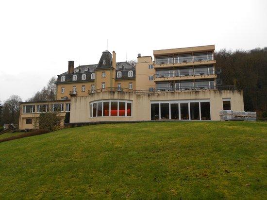 Hotel Bel Air Sport & Wellness : Vue de la façade arrière de l'hôtel