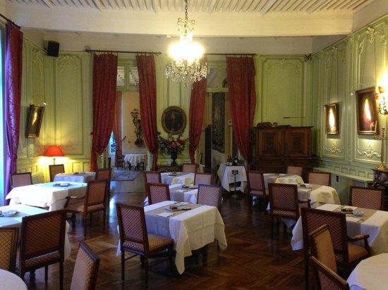 Premier Salon Du Restaurant Picture Of Chateau Spa De La