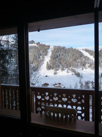 Chalet Marmotte: View from communal lounge area