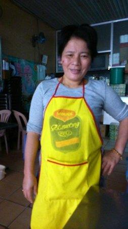 Minh & Coco Mini Restaurant: La Patronne