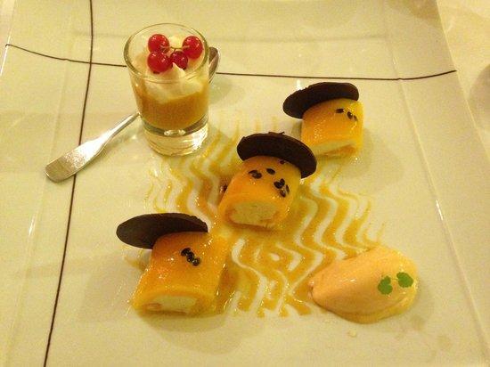 Chateau & spa de la Commanderie : Dessert