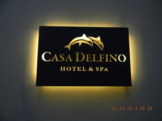 Casa Delfino Hotel & Spa: mAIN ENTRANCE