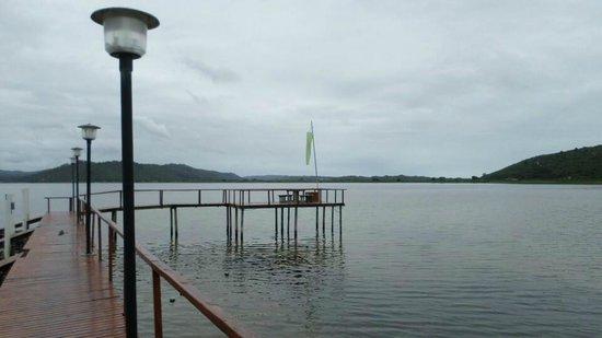 Pine Lake Marina: Beautiful place to have a pick nick