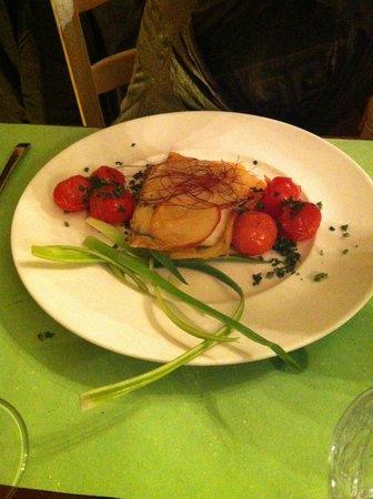 La Cantina del Trinca : Baccalà con sfoglia di patate