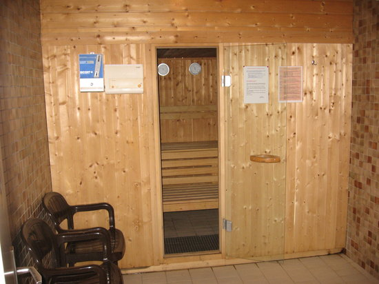 Hotel de Famille: A sauna just to relax