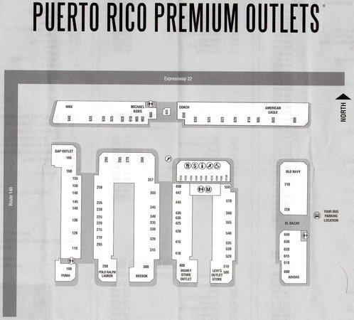 Barceloneta, Puerto Rico: planos tiendas