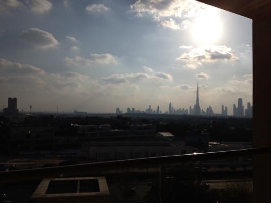 Raffles Dubai: city view