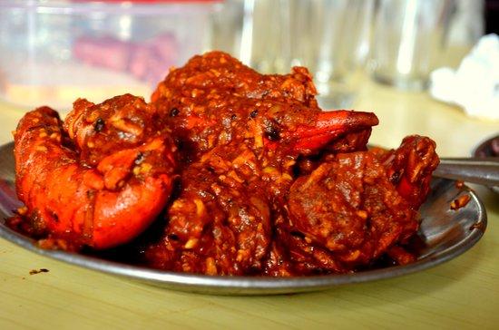 Khurda, India: Chilika Chingudi ( prawn curry )