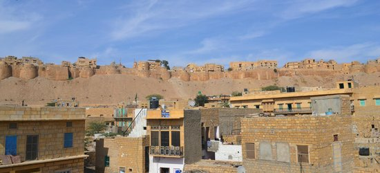 Mystic Jaisalmer Hotel: Fort view from the top