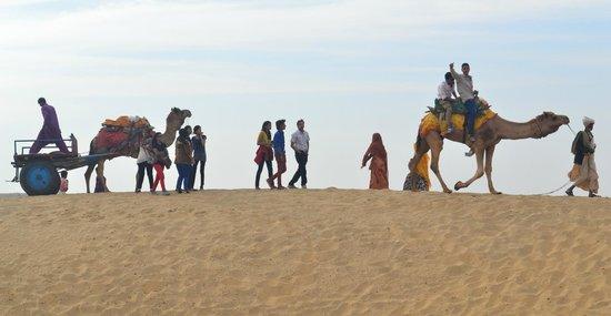 Mystic Jaisalmer Hotel: Desert safari
