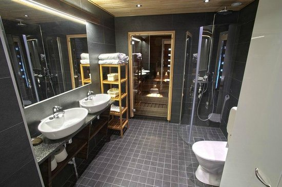 Vuokatinmaa Holiday Apartments: Sauna in 105m cottage