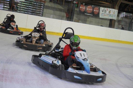 Karting Extreme Verbier : Corporate Ice Karting - Verbier
