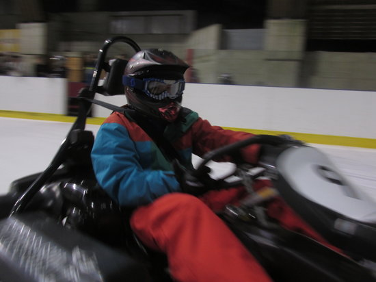 Karting Extreme Verbier : Extreme Ice Karting in Verbier