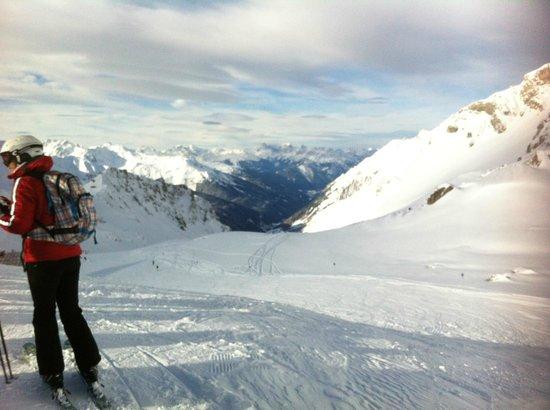 Reselehof: Toppen av Valluga. 2811m