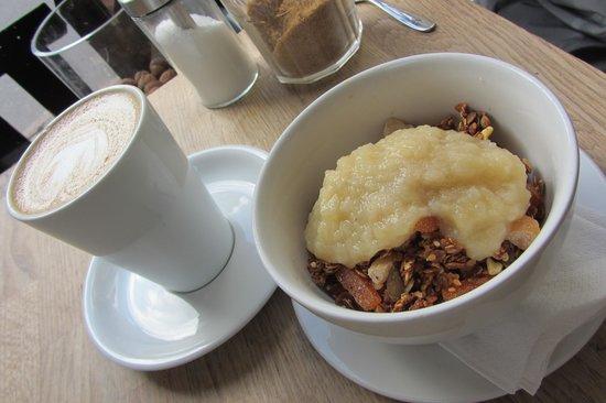 Fitzbillies: Yogurt, Granola and Fruit Compote