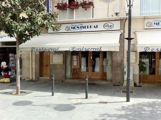 Restaurant Montserrat: FACHADA DEL RESTAURANTE