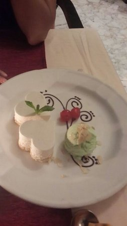 InterContinental Mauritius Resort Balaclava Fort: Bombay Chai Cheese Cake at Veda for dessert