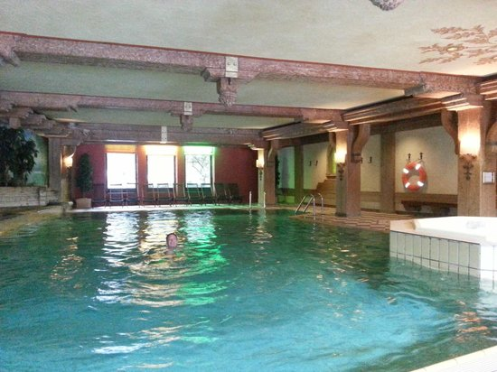 Hotel Ludwig Royal: Schwimmbad
