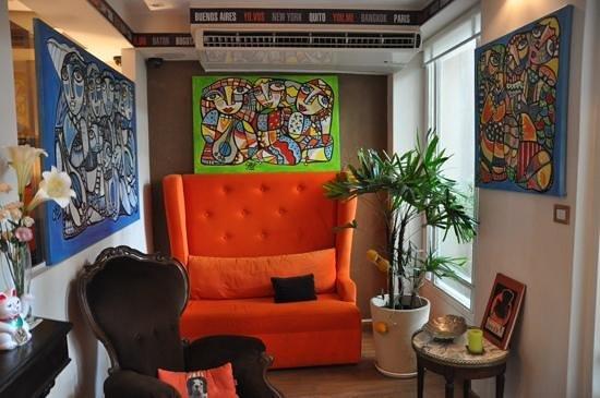 Rendez Vous Hotel Buenos Aires : réception