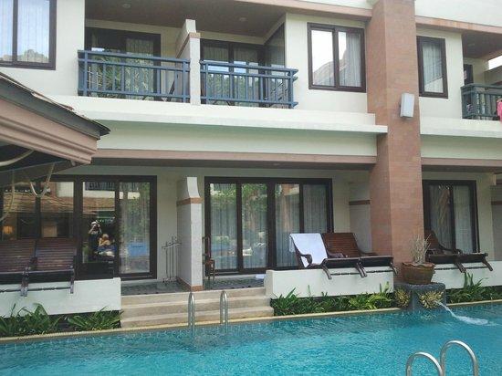 P. P. Palm Tree Resort: Rooms Balcony