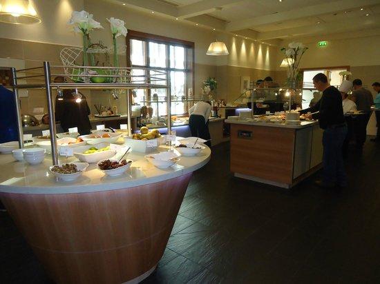Radisson Blu Hotel at Disneyland Paris : buffet du petit déjeuner