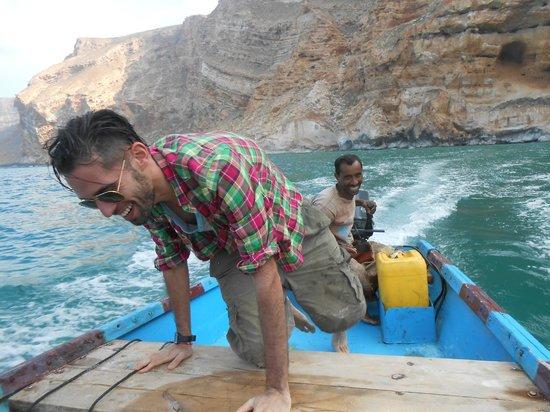 Shoab beach: Boat ride to shaoub, dolphin spotting