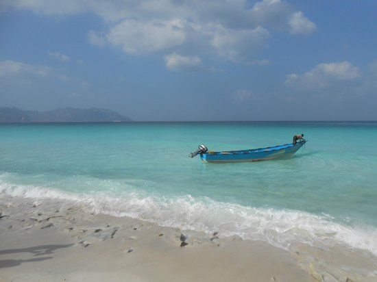 Shoab beach: cleanest water
