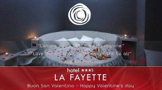 Hotel La Fayette: Buon San Valentino