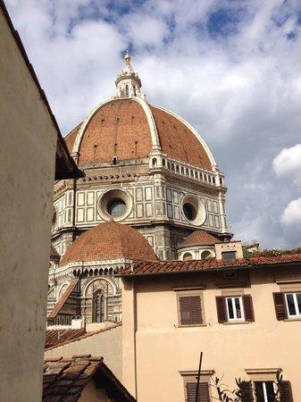 Al Duomo: テラスから見たduomo