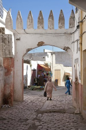 Région de Fès-Boulemane, Maroc : Main Entrance of Bhalil,With a rich history and extraordinary natural features, Bhalil is locate