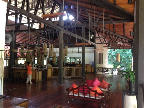 Borneo Rainforest Lodge: 整個很通風