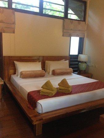 Borneo Rainforest Lodge: 房間內