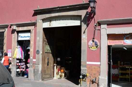 La Casa del Atrio : Entrée Galerie Hotel