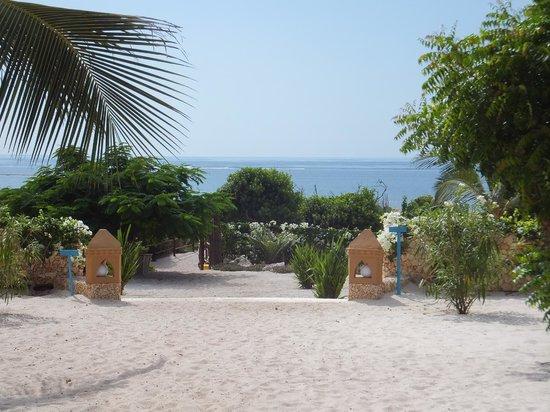 Medina Palms: Private beach