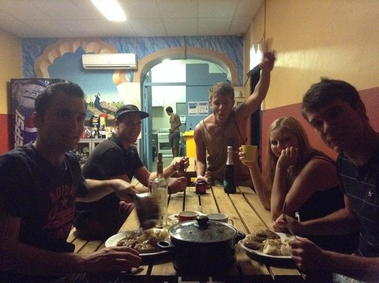 Albany Backpackers: Dine Room
