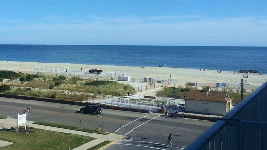Cape May City Beaches: A view from the Grand Hotel