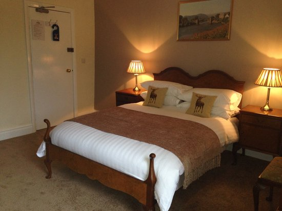 The Eagles Hotel : Standard double room with river and mo