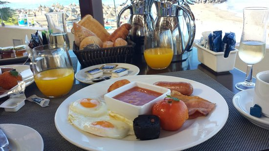 H10 Gran Tinerfe: Breakfast in the a la carte restaurant